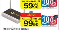 Router wireless Serioux