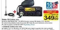 Statie CB Cobra 19DX + antena Cobra HGA 1000