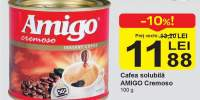 Cafea solubila Amigo Cremoso
