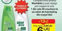 Sampon/Balsam de par Wash&Go