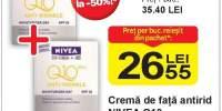 Crema de fata antirid Nivea Q10
