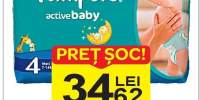 Scutece bebe Carry Pack Pampers