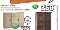 Reducere intre 20-40% la toate vitriniele si bufetele