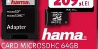 Card microSDHC 64Gb + Adaptor
