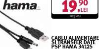 Cablu alimentare si transfer data PSP Hama