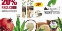 20% reducere la produsele de corp Dr. organic Bioactive Skincare