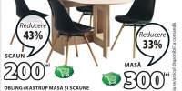 Masa si scaune Obling + Kastrup
