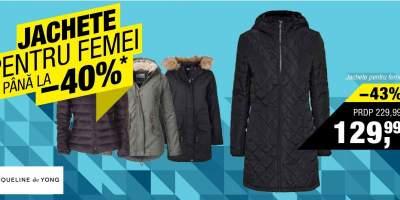 Jachete pentru femei reducere pana la 40%