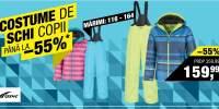 Costume de schi copii pana la -55% reducere!
