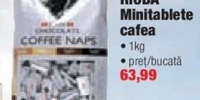 Minitablete cafea Rioba