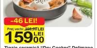 Tigaie ceramica 'Dry Cooker' Delimano