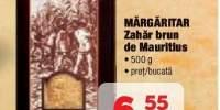Margaritar zahar brun de Mauritius