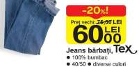 Jeans barbati Tex