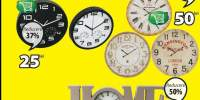 Ceas decorativ de perete Sejer/ Arnstein/ Joar