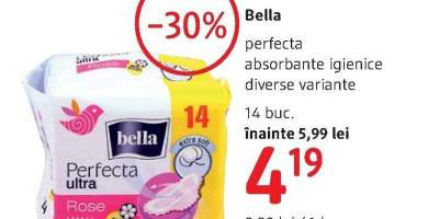 Absorbante igienice Bella