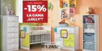 15% Reducere la gama de mobilier pentru bebelusi Lolly