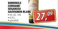 Domeniile Coroanei Segarcea Sauvignon Blanc