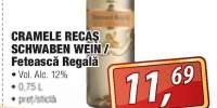Cramele Recas Schwaben Wein/ Feteasca Regala