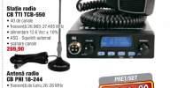 Set statie radio + antena radio PNI