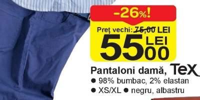 Pantaloni dama, Tex