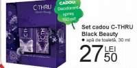 Set cadou C-Thru Black Beauty