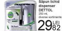 Sapun lichid dispenser Dettol