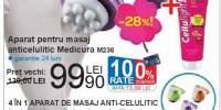 Aparat pentru masaj anticelulitic Medicura M236