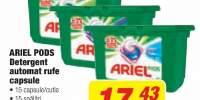 Ariel Pods, detergent automat rufe capsule