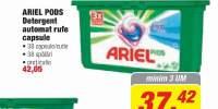 Ariel Pods, detergent automat de rufe capsule