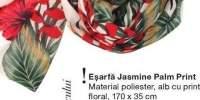 Esarfa Jasmine Palm Print