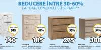 Reducere intre 30-60% la toate comodele cu sertare