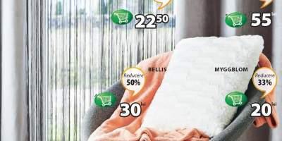 Reducere de pana la 50% la textile