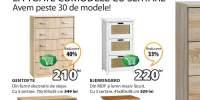 Reducere intre 20-40% la toate comodele cu sertare!