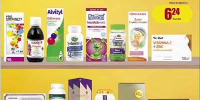 Pana la 30% reducere la produsele pentru stimularea imunitatii
