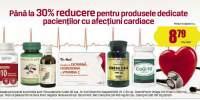Pana la 30% reducere pentru produsele dedicate pacientilor cu afectiuni cardiace