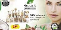 50% reducere la al doilea produs achizitionat Dr. Organic