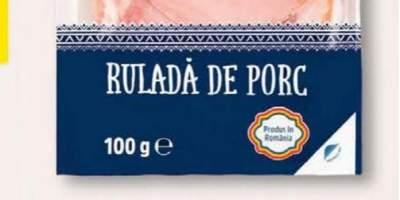 Rulada porc