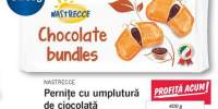 Pernite cu umplutura de ciocolata Nastrecce
