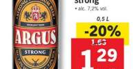 Bere blonda strong Argus