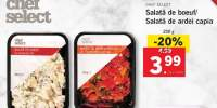 Salata de boeuf/salata de ardei capia