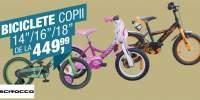 Biciclete copii 14/16/18 inci Scirocco