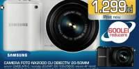Camera foto Samsung NX2000 cu obiectiv 20-50MM