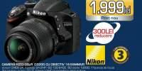 Camera foto Nikon DSLR D3200 cu obiectiv 18-55MMVR