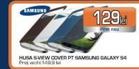 Husa S-View Cover pentru Samsung Galaxy S4