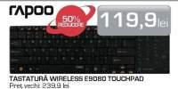 Tastatura Wireless E9080 Touchpad