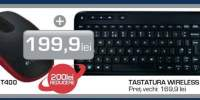 Pachet mouse Zone Touch T400 + Tastatura Wireless Touch K400