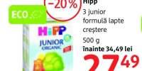 Formula lapte 3 junior Hipp