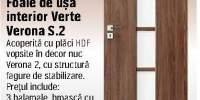 Foaie de usa interior Verte Verona S.2