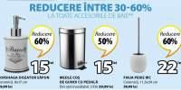 Reducere intre 30-60% la toate accesoriile de baie