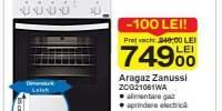 Aragaz Zanussi ZCG21061WA